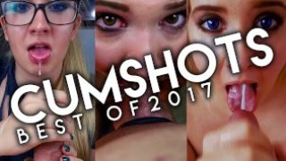 Best Cumshots of 2017 Compilation | Vivian Rose