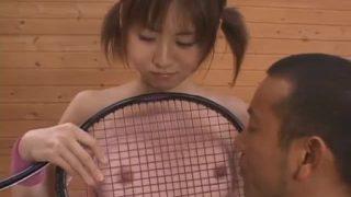 Strong Asian cosplay blowjob